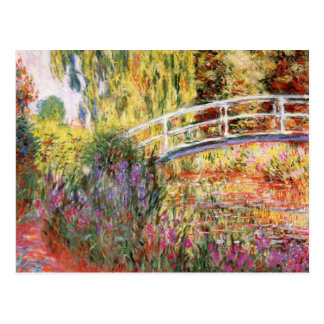 Claude Monet Fine Art Postcard