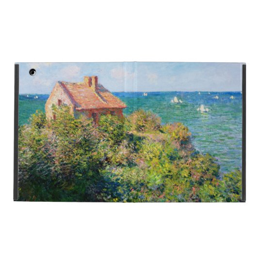 Claude Monet: Fishermans Cottage at Varengeville iPad Case