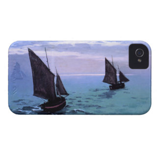 Claude Monet: Fishing Boats on their Way Case-Mate Blackberry Case