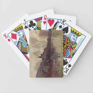 Claude Monet | Floods at Giverny Bicycle Playing Cards