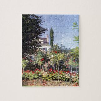 Claude Monet Flowering Garden Jigsaw Puzzle