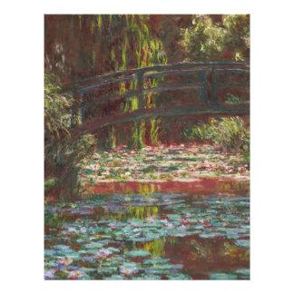 Claude Monet Personalized Flyer