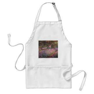 Claude Monet // Garden at Giverny Aprons