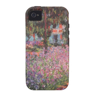 Claude Monet // Garden at Giverny iPhone 4/4S Cover