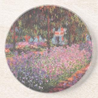 Claude Monet // Garden at Giverny Coaster