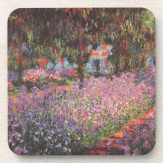 Claude Monet // Garden at Giverny Coasters