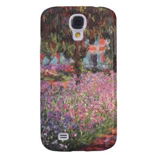 Claude Monet // Garden at Giverny Galaxy S4 Case