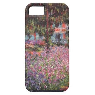 Claude Monet // Garden at Giverny iPhone 5 Case