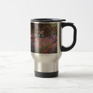 Claude Monet // Garden at Giverny Mugs