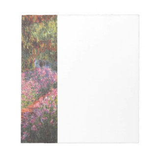 Claude Monet // Garden at Giverny Note Pad
