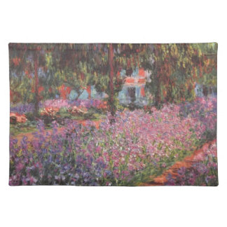 Claude Monet // Garden at Giverny Place Mats