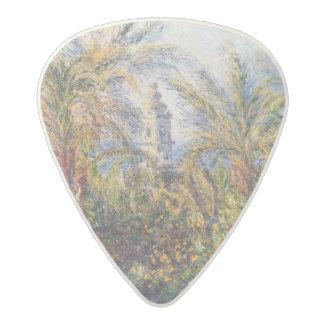 Claude Monet | Garden in Bordighera Acetal Guitar Pick