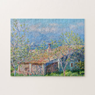 Claude Monet: Gardeners House at Antibes Puzzle