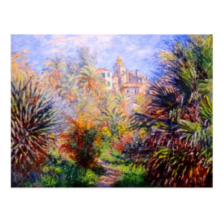 Claude Monet: Gardens of the Villa Moreno Bordighe Postcard