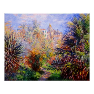Claude Monet: Gardens of the Villa Moreno Bordighe Poster