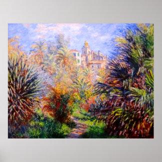 Claude Monet: Gardens of the Villa Moreno Bordighe Poster