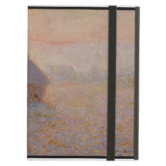 Claude Monet | Grainstack, Sun in the Mist iPad Air Case