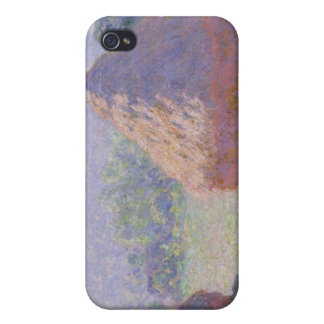 Claude Monet | Grainstacks at the end of Summer iPhone 4 Case