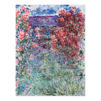 Claude Monet | House at Giverny under the Roses Postcard