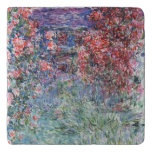 Claude Monet | House at Giverny under the Roses Trivet