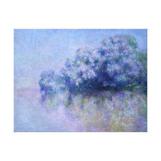 Claude Monet Île aux Orties near Vernon Canvas Print