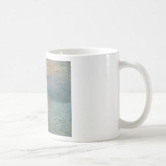 Claude Monet Impression Sunrise Soleil Levant Basic White Mug