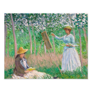 Claude Monet - In the Woods at Giverny Photograph