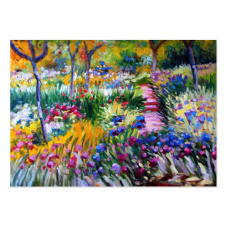 Claude Monet: Iris Garden by Giverny Business Card