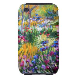 Claude Monet: Iris Garden by Giverny Tough iPhone 3 Cases