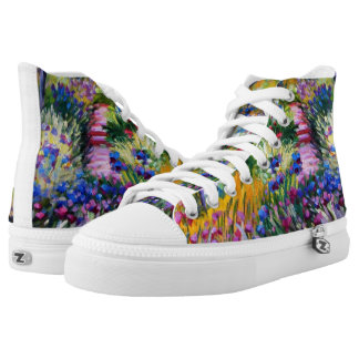 Claude Monet: Iris Garden by Giverny Printed Shoes