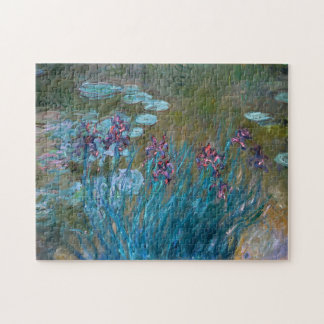Claude Monet: Irises and Water Lilies Jigsaw Puzzle