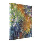 Claude Monet - Irises Gallery Wrapped Canvas