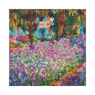 Claude Monet - Irises in Monet's Garden Canvas Prints
