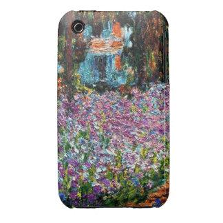 Claude Monet: Irises in Monet's Garden iPhone 3 Cases