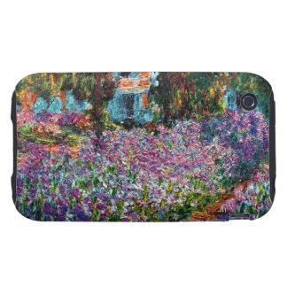 Claude Monet: Irises in Monet's Garden iPhone 3 Tough Cover