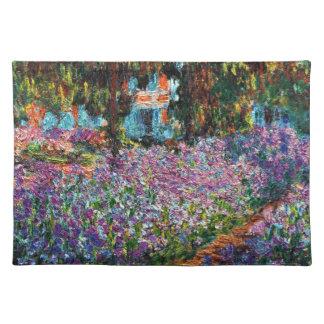 Claude Monet: Irises in Monet's Garden Placemat