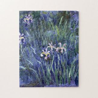 Claude Monet: Irises Jigsaw Puzzle