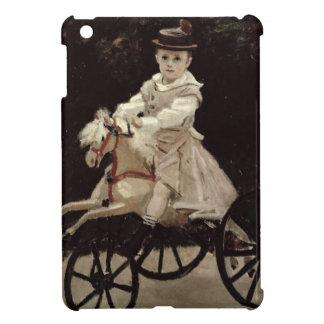 Claude Monet | Jean Monet on his Hobby Horse, 1872 iPad Mini Cases