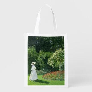 Claude Monet | Jeanne Marie Lecadre in the Garden