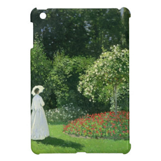 Claude Monet | Jeanne Marie Lecadre in the Garden iPad Mini Cover