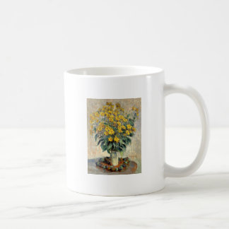 Claude Monet Jerusalem Artichoke Flowers 1880 Coffee Mug