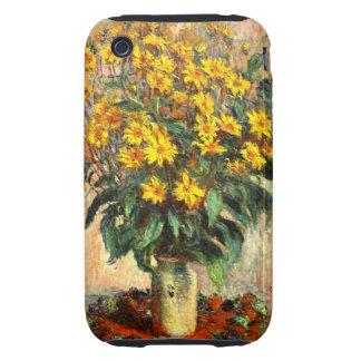 Claude Monet: Jerusalem Artichokes Tough iPhone 3 Covers