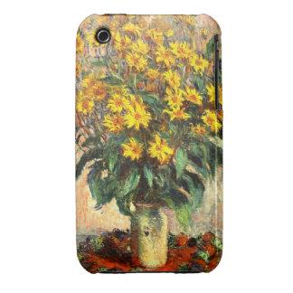 Claude Monet: Jerusalem Artichokes iPhone 3 Case-Mate Case