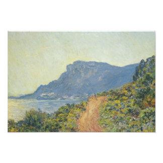Claude Monet - La Corniche near Monaco Art Photo