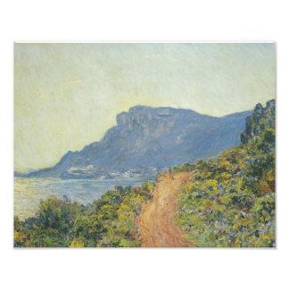 Claude Monet - La Corniche near Monaco Photo Art
