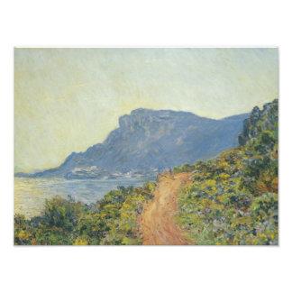 Claude Monet - La Corniche near Monaco Photo Print