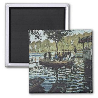 Claude Monet | La Grenouillere Magnet