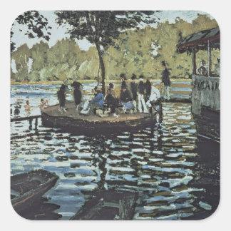 Claude Monet | La Grenouillere Square Sticker