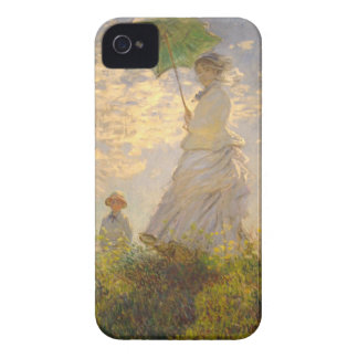 Claude Monet // La Promenade // Umbrella iPhone 4 Case-Mate Case