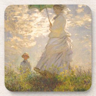 Claude Monet // La Promenade // Umbrella Coaster